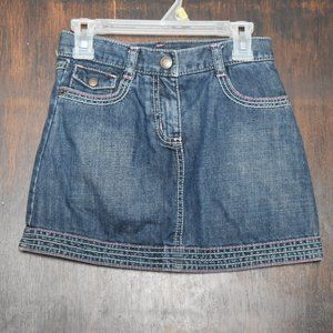 Gymboree Girls Denim Skirt - size 7